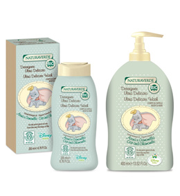 NATURAVERDE ORGANIC ULTRA DELICATE BODY AND HAIR WASH - DUMBO 200ML/400ML ♫ KIDS AND CHILDREN