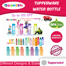 ★Authentic Tupperware★ SG Seller Aquasafe Eco Fliptop Water Bottle*BPA Free* Best Teachers Day Gift