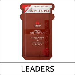 [Leaders] Mediu Amino Pore-Tight Mask (25ml*10ea) 1 Pack / 메디유 Pore-Tight 마스크