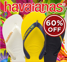 $16.9 Havaianas Logo Honey Disney Hype and Popeye more Havaianas flip flops on sale!