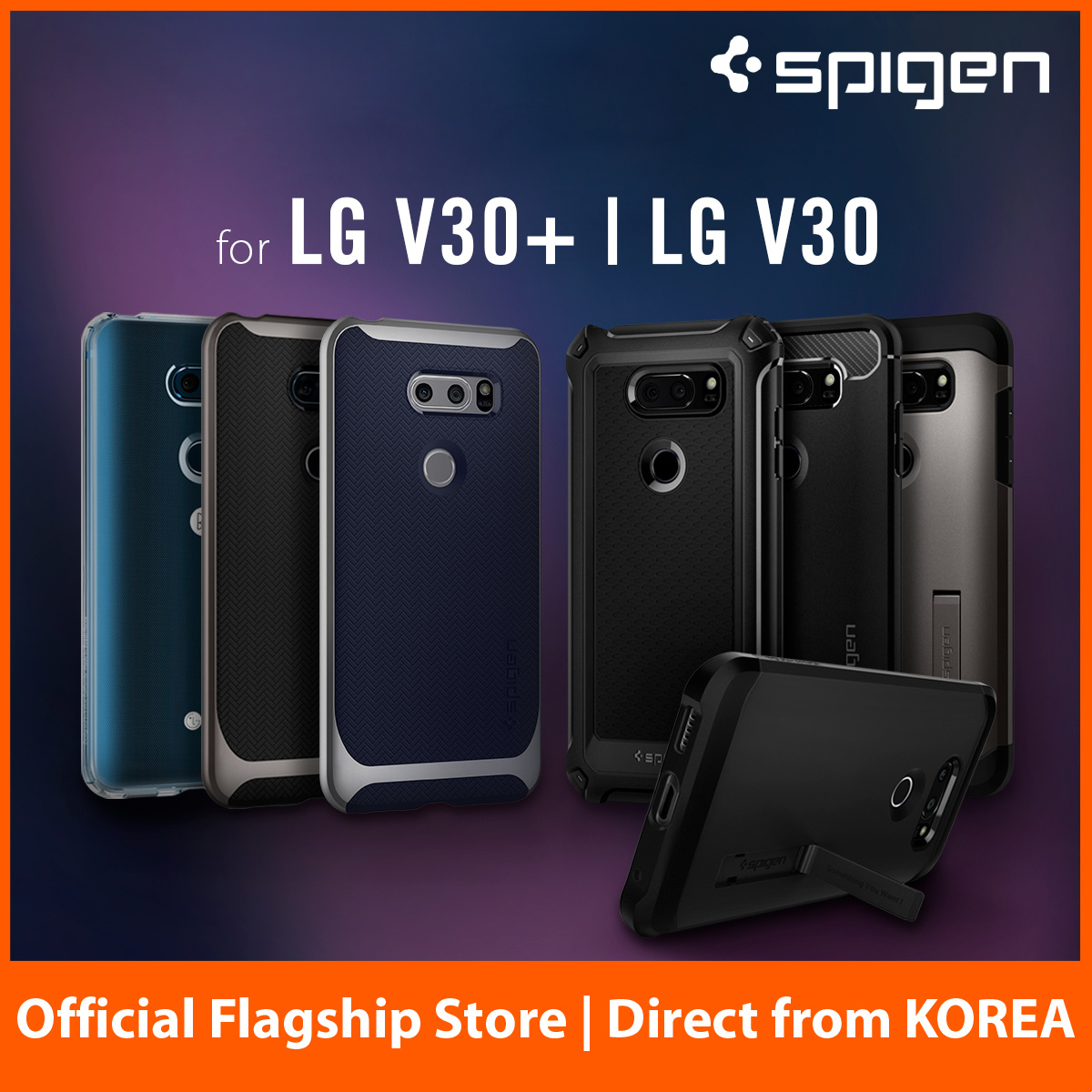 best service 1a52d 4636d SPIGENSpigen LG V30 Case Casing Cover Screen Protector Direct from Korea  Fast Free Local Delivery