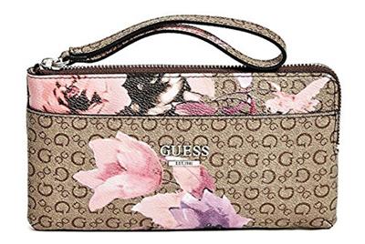 b8c479c3b0 Qoo10 - (GUESS) GUESS Women s Ashville Wristlet Clutch Bag   Bag ...