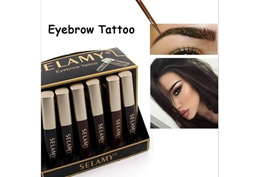 New Brand Eyebrow Enhancers Make Up Eye Brow Tint Tattoo Eyes Pencils Waterproof Makeup Black Brown