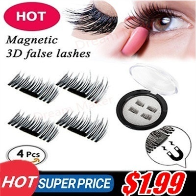0c8c11ab3e7 Latest PREMIUM 3D Reusable Magnetic Fake Eyelashes for Natural Look Cruelty  Free¥0.02mm Ultra