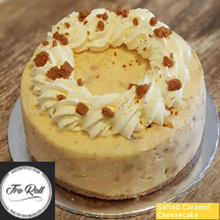[ FroRoll ] Salted caramel Cheesecake! Available from 1kg to 2kg! FREE DELIVERY