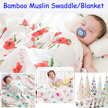 Buy 1 Free 1 💥Premium Quality💥 Bamboo Muslin Swaddle / Blanket/Baby Swaddle/ Towel/