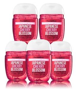 Bath and Body Works JAPANESE CHERRY BLOSSOM PocketBac Hand Sanitizer 1 oz (1 only)