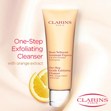 Clarins One-Step Exfoliating Cleanser With Orange Extract 125ml