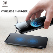 ❤Geeks ❤Baseus Qi Fast Wireless Charger For iPhone 8 8+ X Samsung Note 8 S8 Plus S7 S6 Edge /SG