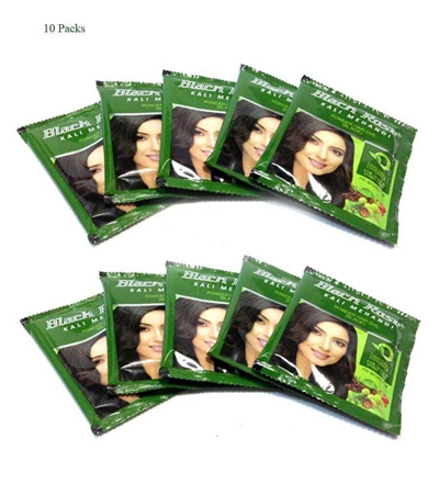 Qoo10 10 10 Gm Black Rose Kali Mehandi Black Henna Hair Dye Powder
