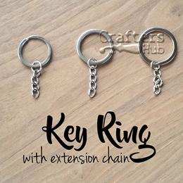 ROCKBROS Titanium Ti Multi-functional Survival Pocket Tool Key Ring Key Chain