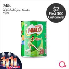 MILO ACTIV-GO Regular 400g (Special Mini Tin! Limited Quantity)
