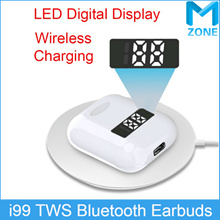 i99 TWS Wireless  Earbuds LED Digital Display/Pop-up/Wireless Charging/For  iphone huawei samsung ..