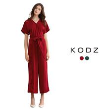 KODZ - Wrap Front Jumpsuit-180007