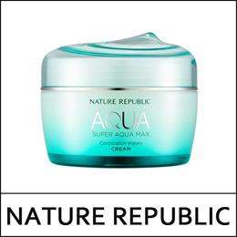 [NATUREREPUBLIC] ⓢ Super Aqua Max Combination Watery Cream 80ml (Green) / Combination Skin