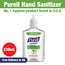 [Purell Advanced Hand Sanitizer 8 Oz Pump Bottle]★remove99.9%germs★ 236mL / Free shipping