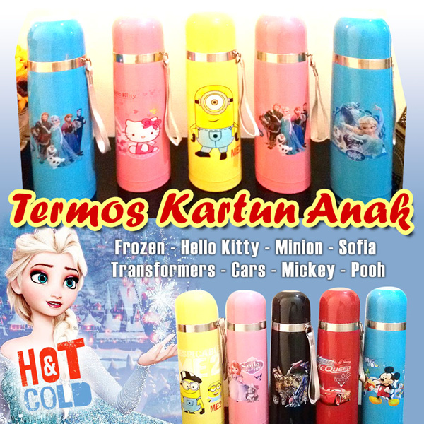 Termos Kartun Anak 500 mL Deals for only Rp57.000 instead of Rp57.000