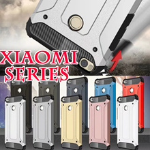 ★Xiaomi Series★Armor Case for xiaomi max 2 remi Note 4 4X 4a Mi 6 4A Note3 Redmi 5x xiaomi max casin