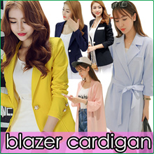 Office Lady Blazer Jacket/Air Conditioner Cardigan/Women Fashion Korea Suit Vogue Jacket Tops
