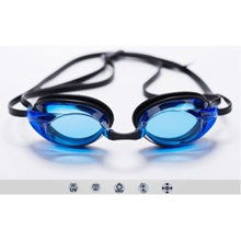 Speedo Swimming Goggles with Anti-Fog and UV protection - Lagoonblue (Clear)