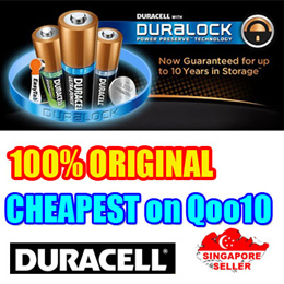 Duracell OEM AA and AAA Battery like energizer batteries.