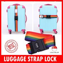 Travel luggage Strap lock / numeric lock / baggage strap / luggage tag / bag / dial lock / neck air