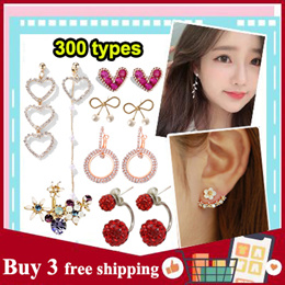 【BUY 3 FREE SHIPPING】2019 Latest Korea Fashion Jewellery Earrings/ Trend Popular Women earring