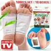 [AS SEEN ON TV] Best Selling! KINOKI / Kinoki Detox Foot Pads/ Foot Pad Patch/ Detoxify Patches/ Health Foot Care Pads Kinoki/ [BUY 3 ONE SHIPPING FEE]