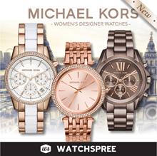 *MICHAEL KORS GENUINE* Michael Kors Ladies Designer Watches. Free Shipping and Warranty!