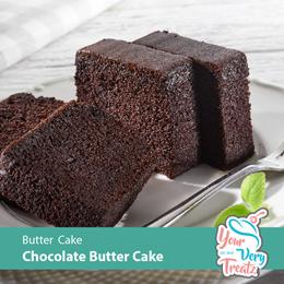 Chocolate Butter Cake 110 PCS