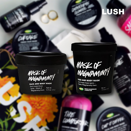 LUSH MASK OF MAGNAMINTY 125g 315g