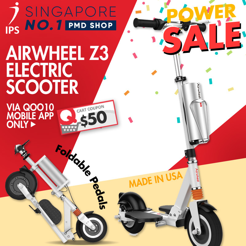 Airwheel Z3 Electric Scooter Made In Usa