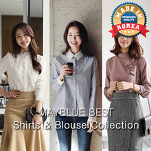 [mayblue] ★Free Shipping★💖6TYPE Shirts Blouse COLLECTION★