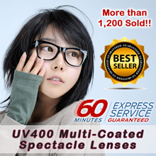 【Promotion】★Only $19.80 for A Pair of Multi-Coated Spectacle Lens★ FREE 60 Min Express Collection