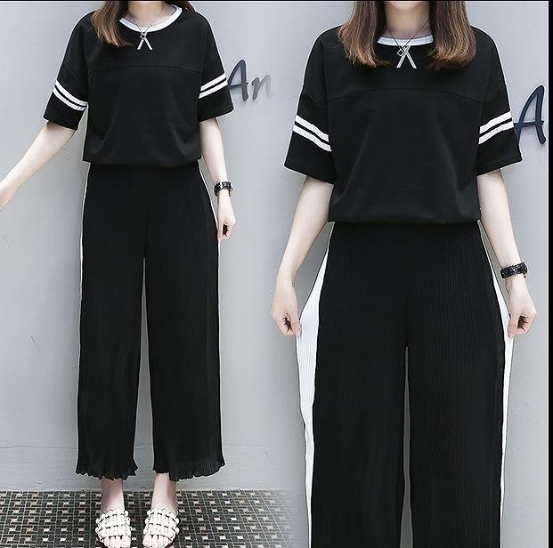 [55555SHOP]【春夏新作】ファッション/人気/2枚セットトップス