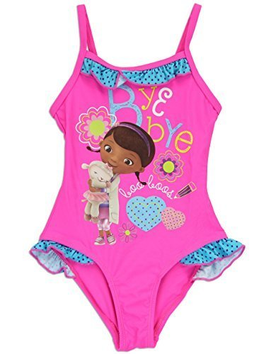 476ad8e09031b Direct from Germany - Character girls Disney doc McStuffins swimsuit - 5  years