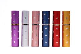 ★ON SALE★5ml washable diamond glass refillable perfume refill spray bottle gift