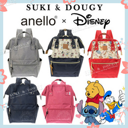 【SG DISTRIBUTOR】100% AUTHENTIC Disneyland anello x Disney BACKPACK 💕 luggage travel bag