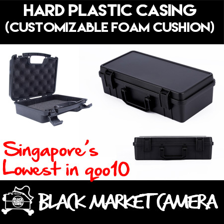 [BMC] [Photography] Black ABS Plastic Hard Casing with Customizable Foam Cushion I DJI OSMO Suitable Case {CHEAPEST TIME SALES} Sleek/ Compact/ Portable/ Lightweight/ Shock Drop Corrosion Resistant Deals for only S$109 instead of S$0