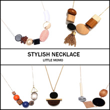 LITTLE MOMO ✨ WOODEN NECKLACE ✨  20 STYLISH DESIGNS