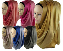 viscose shimmer hijab with beautiful glitter lurex shinny shawl glitter scarf  Can Choose ColorsFree Shipping