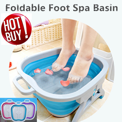 ★Massager/Foldable / Multipurpose Foot Spa Basin★Foot Reflexology/Massage/Local seller★