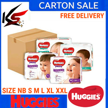 NEW Huggies Platinum Diapers /Pants Carton Sale Mare in China 🇨🇳 For Singapore