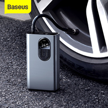 Baseus Car Air Compressor Inflator Pump w LED Lamp For Car Motorcycle Bicycle Tire Inflatable