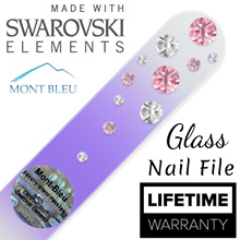 New WaterFall Edition ♥ Swarovski Glass Nail Files ♥ Lifetime Warranty ♥ Made in Europe