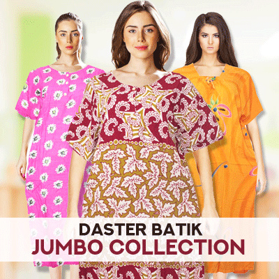 Daster Batik Jumbo Collections 2 Deals for only Rp29.600 instead of Rp29.600
