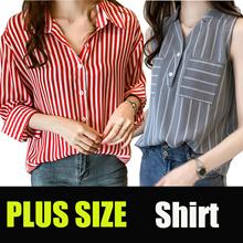 tops Plus size Career shirt Chiffon Blouse Casual shirt Short sleeve t-shirt/top