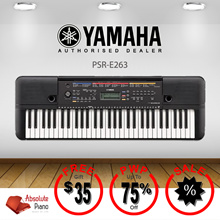 [ DIGITAL PIANO SALE!] ★★ Yamaha PSR-E263 keyboard★★| Music Keyboard | Portable Keyboard