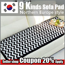 ★SOFA Pads★Made in KOREA/ Modern Style Sofa Carpet/ Sofa Seat Pad Mat/ Cotton 100%/ Living Room Deco