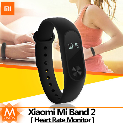 [Super Sale]Original Xiaomi Mi Band 2|Smart Wristband Bracelet| Heart Beat |LED Display|Touch Button Deals for only S$39.9 instead of S$0